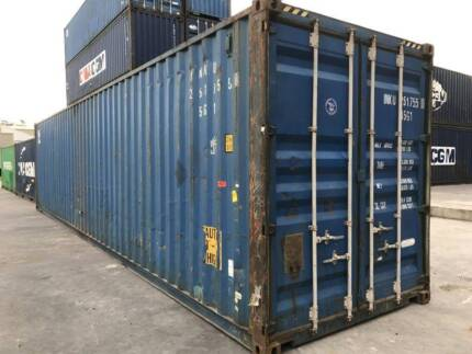 40 Hi Cube (9ft 6) Used Shipping containers- Hamilton Delivery Hamilton Southern Grampians Preview