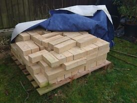 Bradstone Tooled blocks mixed sizes, 3 pallets