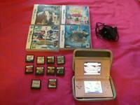 Nintendo DS bundle with 14 games