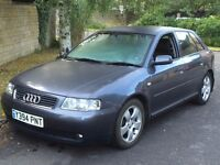 Audi A3 1.8T Turbo Quattro 4WD LPG (Gas Bifuel registered) 2001