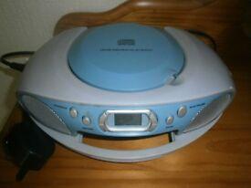 Compact disc/radio digital audio player