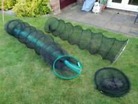 2 x keep nets and hoop landing net