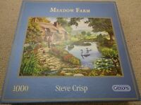Puzzle - Gibsons - Meadow Farm - 1000 Pieces