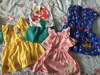 Girls age 3 Disney summer dress bundle