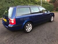 2002 vw Passat SPORT 1.9 Tdi AUTO estate diesel long mot GREAT CONDITION a4 Octavia