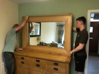 SOLID OAK MASSIVE MIRROR REALLY STUNNING RRP £600 FROM JOHN LEWIS