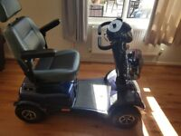 VAN OS MEDICAL Excel Galaxy II 12mph Class 3 Electric Blue Mobility Scooter NOT WORKING!