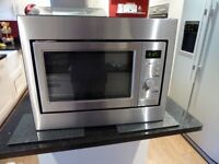Built in CDA grill Microwave