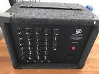 NJD Pro 125 Professional Microphone Mixer.