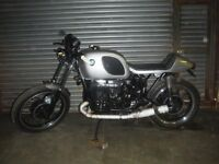BMW R60/6 classic cafe racer 1 of custom bobber chop 1976 new MOT