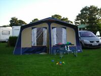 Cabanon Saturn trailer tent 2007 model, immaculate, pvc coated roof.