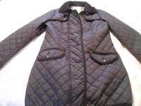 NEXT Ladies Navy Padded Jacket Size 12