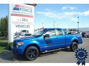 2014 Ford F-150 FX4 - Blacked-Out Rims, Spray-In Liner, 42427 KM