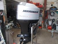 OUTBOARD ENGINE mariner 115hp 4 stroke exc condition service with remotes 2002 yr