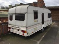 Bailey Scorpion caravan