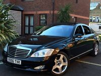 2007 MERCEDES S320L CDI PANORAMIC ROOF FULLY LOADED SPEC IMMACULATE IN/OUT