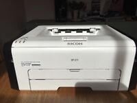 Brand new Ricoh SP 211 Laser Printer