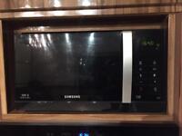 Samsung microwave black