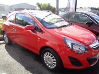 Vauxhall Corsa S ECOFLEX (red) 2014-06-30