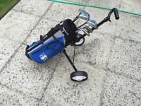 Junior golf clubs (Age 4-7) kids Children's set, bag & trolley