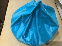 Turquoise bean bag - £20