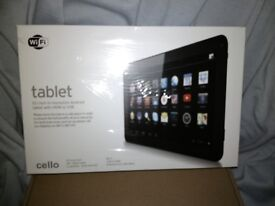 ANDROID TABLET. 10 INCH. BARGAIN ONLY £39. NEW UNUSED IN SEALED RETAIL PRESENTATION BOX.