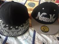 2 baseball caps 🧢