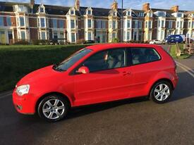 58 2009 Volkswagen polo MOT may 2018 one owner from new