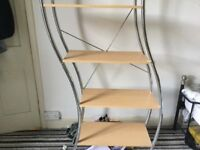 Shelving unit- great condition