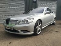 2006 MERCEDES S550 AMG (S63 UPGRADE) STUNNING CAR not audi m sport bmw s3 s5 s class