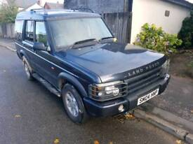 Land rover discovery 2 two 2.5 td5 pursuit 7 seats seat seater 4x4