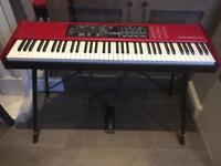 Nord Electro 4 HP + Gator Wheeled Case + Stand + Sustain Pedal + Dust Cover + Music Stand Attachment