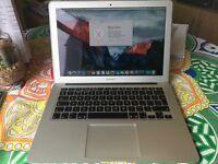 """Macbook Air 13"""" 2014 Model Intel Core i5, 4GB Ram, 128GB Flash SSD, Intel HD5000 1536MB Graphics"""
