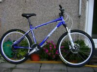 Kona Blast Mountain Bike, in outstanding condition. Medium 18 inch frame.