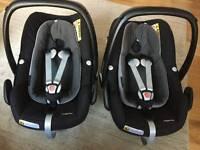 Maxi Cosi Pebble Plus Car Seat (2 available)