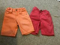 Boys shorts 2-3years