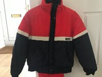 Vintage Ski Jacket, Salopettes, 2 x gloves & goggles