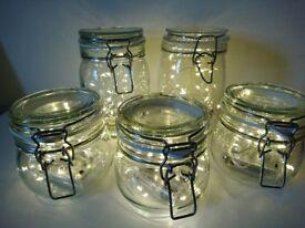 Clip Top Jar Fairy Lights