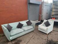 Dfs Fabric sofa set delivery 🚚 sofa suite couch