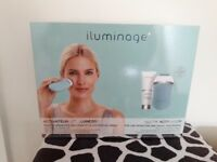 Iluminage Youth Activator facial contouring device.