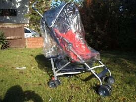 Mothercare Stroller with rain cover excellent condition.