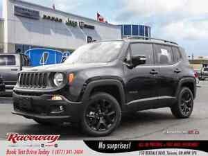 2018 Jeep Renegade North | ALTITUDE PCK | NAV | BLUETOOTH |