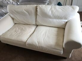 2 seater Sofa not upholstered