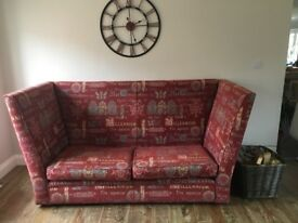 Large handmade sofa