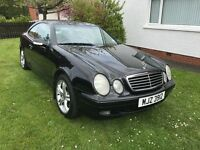 Beautiful Mercedes CLK Kompressor, Black Metallic. Stunning condition, super smooth Auto Box
