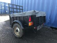 NOW SOLD Car trailer with cover