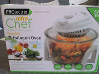 PROLECTRIX INFRA CHEF - 7L HALOGEN OVEN - ONLY USED TWICE