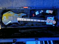 Fretless American Deluxe Jazz Bass (modified)