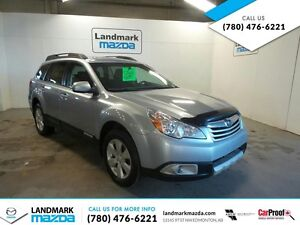 2012 Subaru Outback 2.5i TOURING / WARRANTY INCLUDED