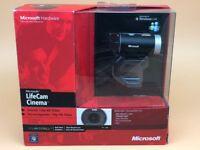 Microsoft LifeCam Cinema Webcam - Black/Silver